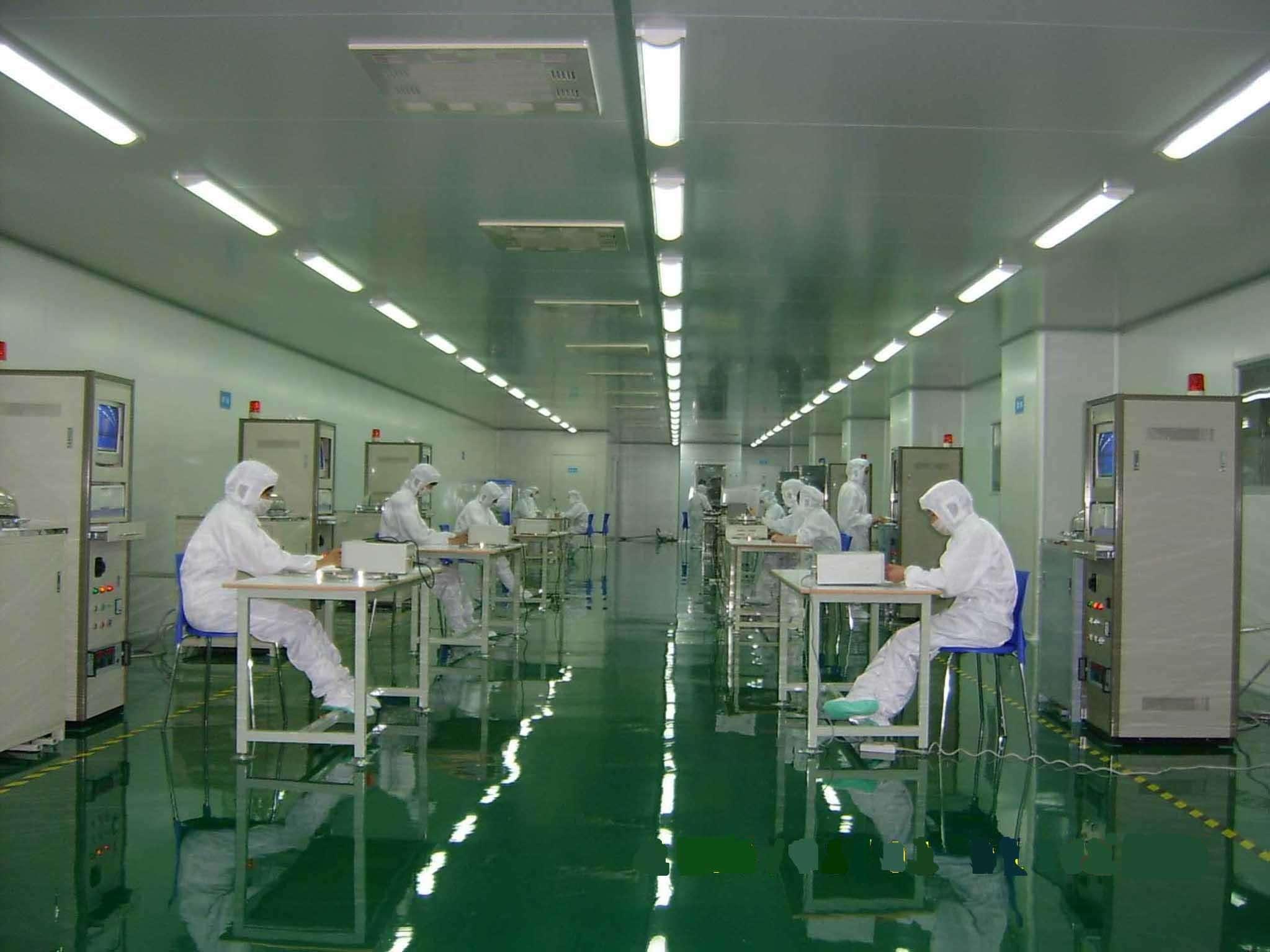 电子工业净化车间中央空调工程