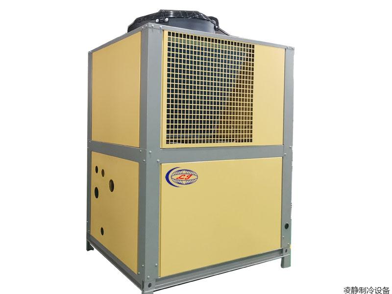 黄色风冷箱式冷水机
