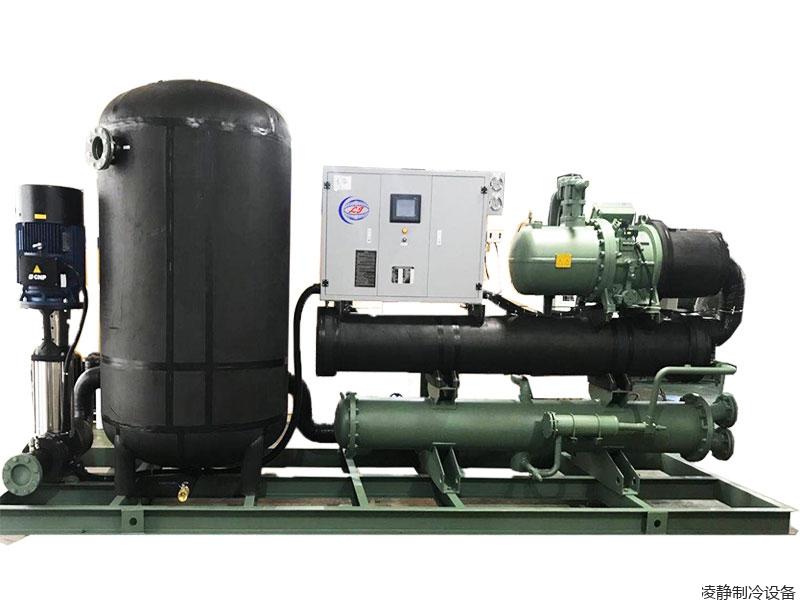 闭式循环低温螺杆冷水机组